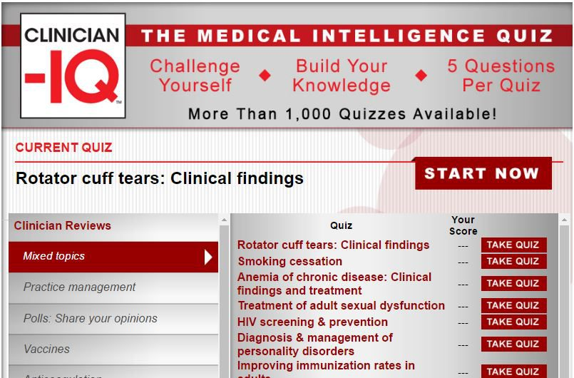 MD-IQ Quizzes